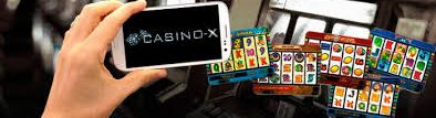 Casino X mobile application
